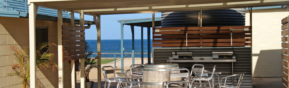 Outdoor BBQ area Port Vincent